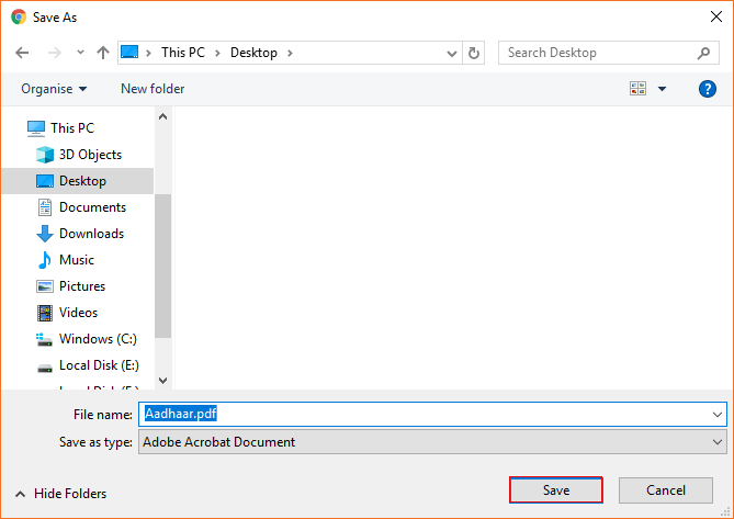 how to unlock aadhar pdf permanently