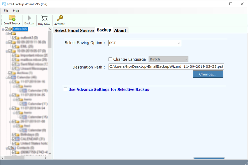 BitRecover Outlook Webmail Backup Wizard