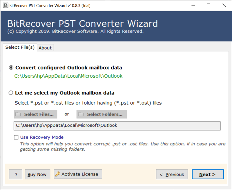 Outlook to Opera Mail Converter