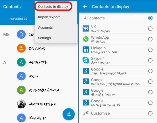 display-all-contacts-android