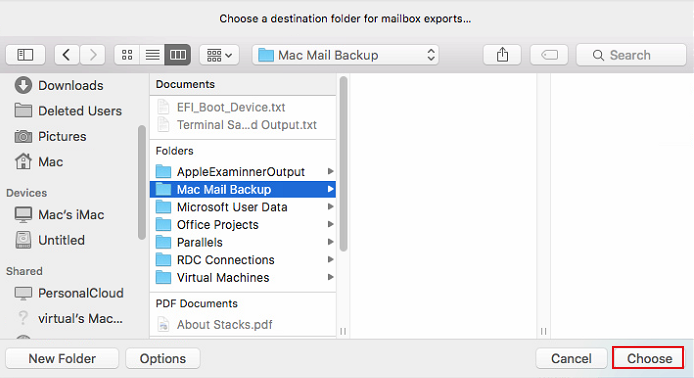 Export Mac Mail to Windows and Convert Them into Desired Formats