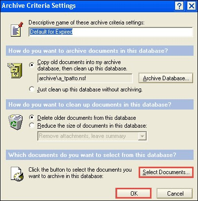 Select Documents