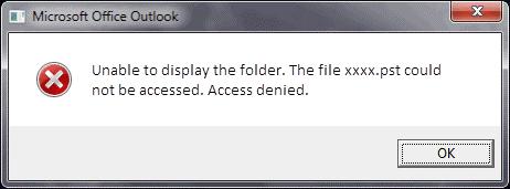 Error 3 screenshot
