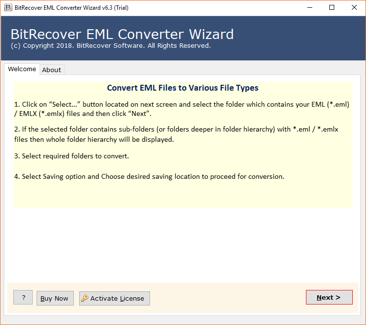 how to download eml file