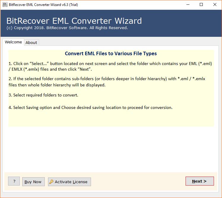 EML to OLM converter