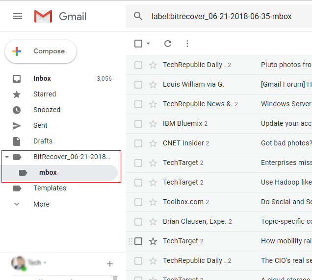 Now login to Google Mail