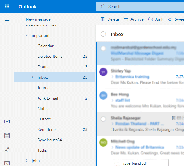 Login to Outlook.com