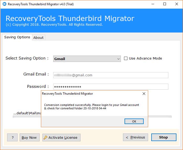 Googlemail Thunderbird