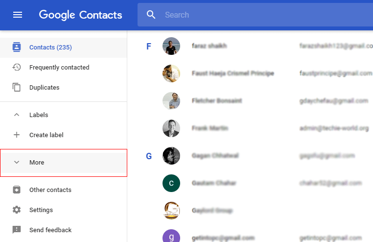 Import vCard to Gmail Contacts 2018 Edition Manually Free of Cost