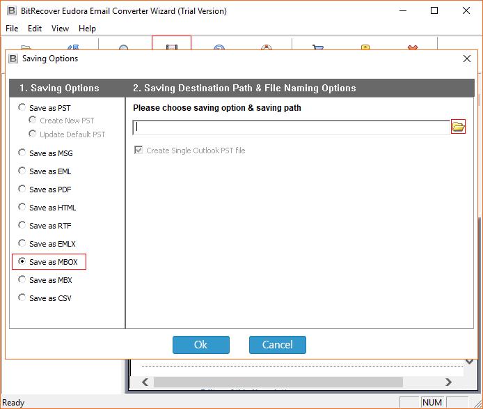 Saving format