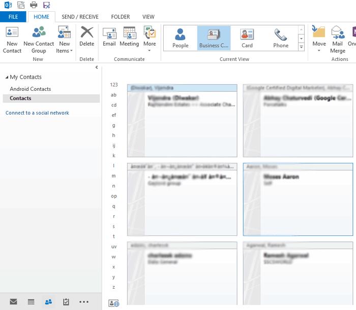 Run Microsoft Outlook
