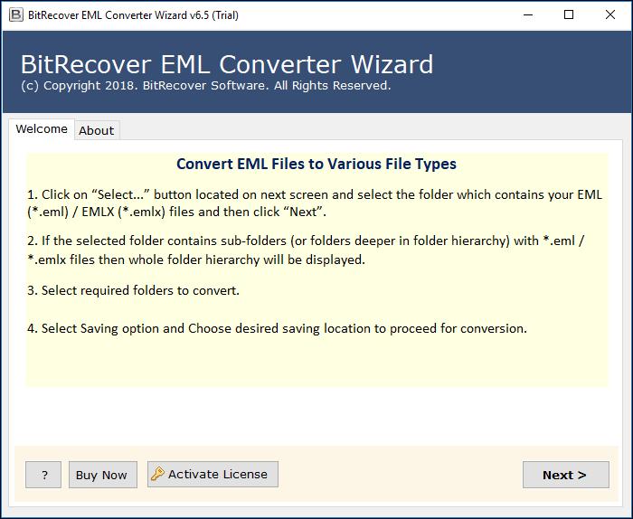EML to EMLX Converter