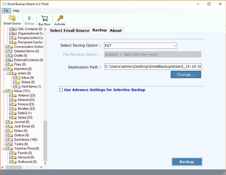 Exchange Server to IBM Verse mailbox