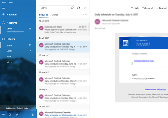 Import Outlook OST to Windows 10 Mail App