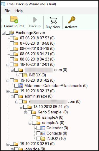Live Exchange Server to IceWarp Cloud