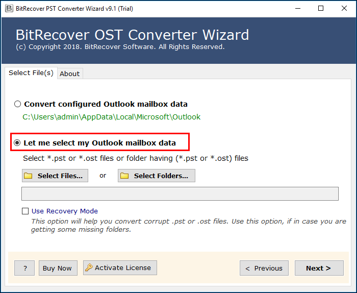 If Outlook is not configured