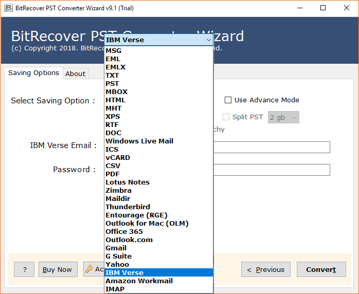 Select IBM Verse