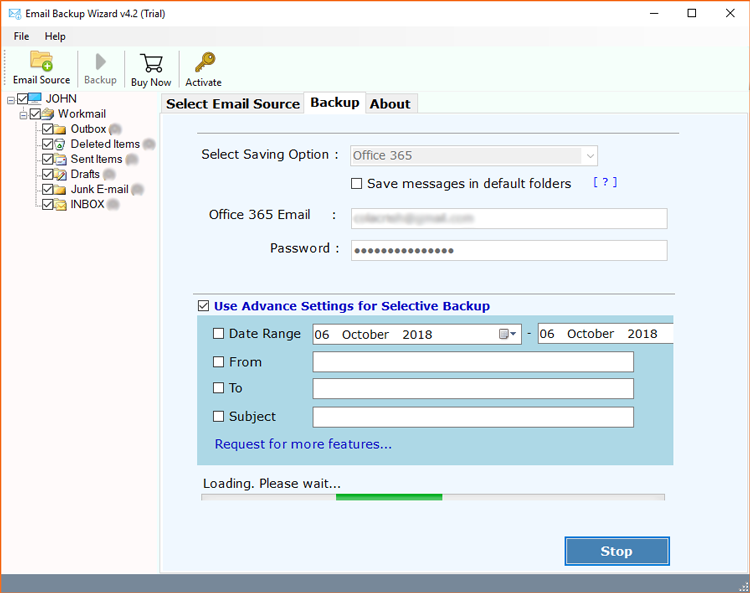 WorkMail to Office 365 migration