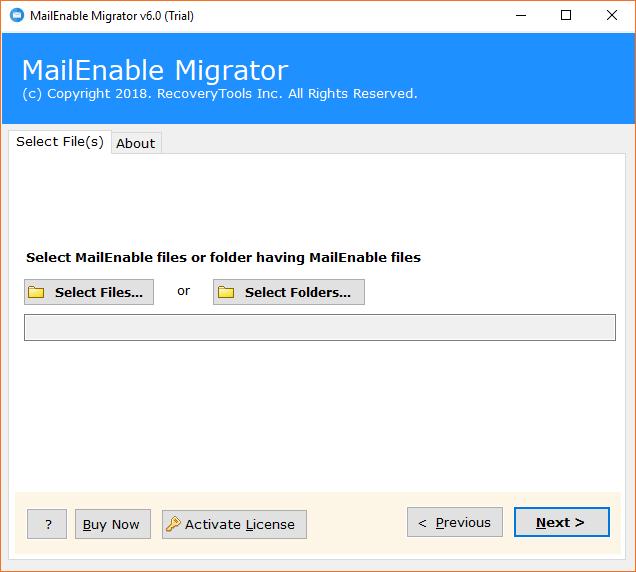 mailenable backup tool