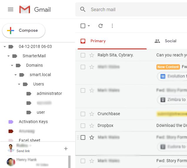 login to Gmail account