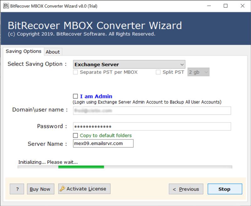 migrate MBOX to Exchange Server