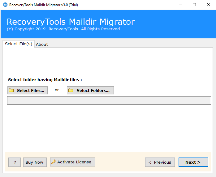 Run Maildir to Exchange Migration Tool