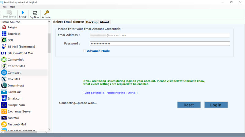 How To Transfer Comcast Email To Outlook 2019 2016 Older Editions Bitrecover Blog