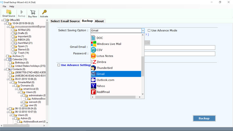 choose-gmail-to-migrate-office365-mailbox-emails