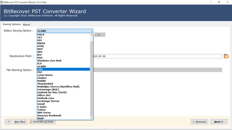 choose-csv-or-vcard-to-extract-contacts-from-pst-without-outlook