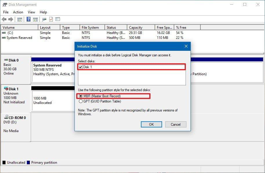 How to Create VHD in Windows – Mount / Detach VHD or VHDX
