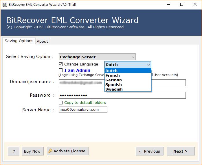Convert Pegasus Mail to Exchange Server