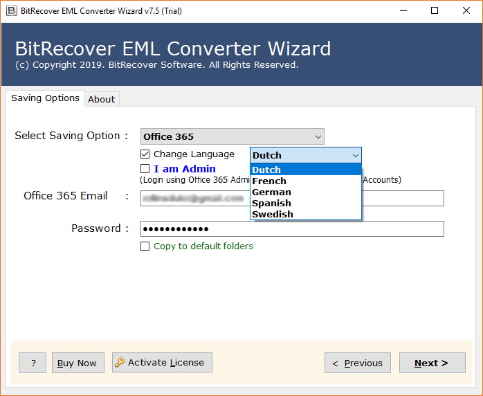 Convert Pegasus Mail to Office 365