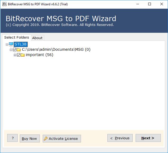 print msg files