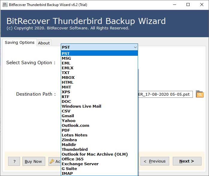 download Thunderbird profile converter