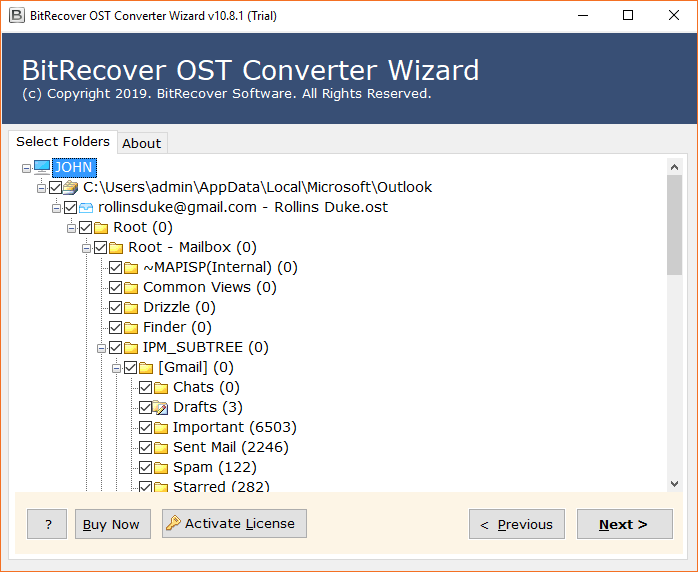 OST to Word Converter