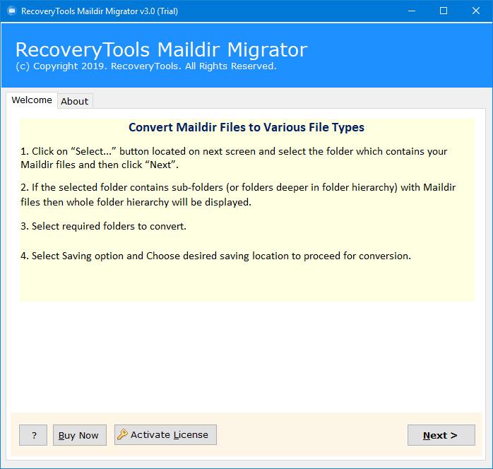 maildir migration tool
