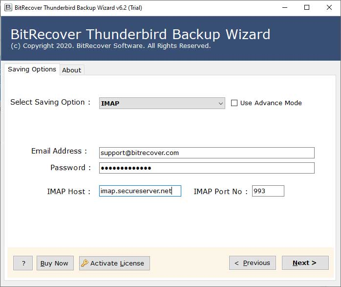 Thunderbird local folders to IMAP
