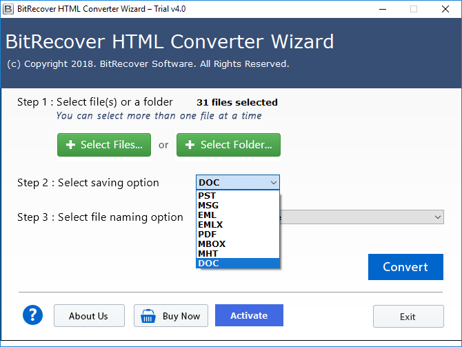 html to doc converter