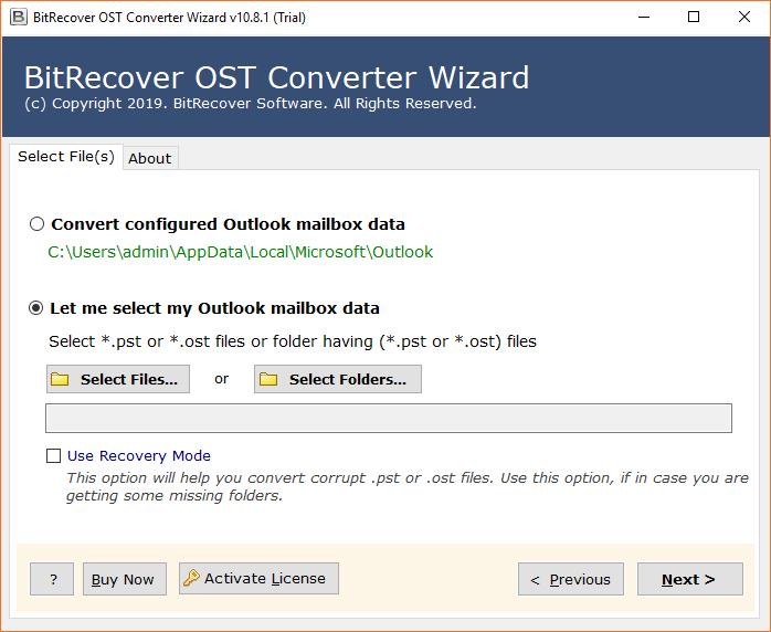 Convert OST files to ICS