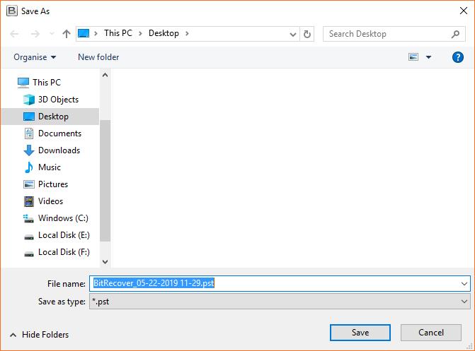 migrate Adobe PDF files into PST