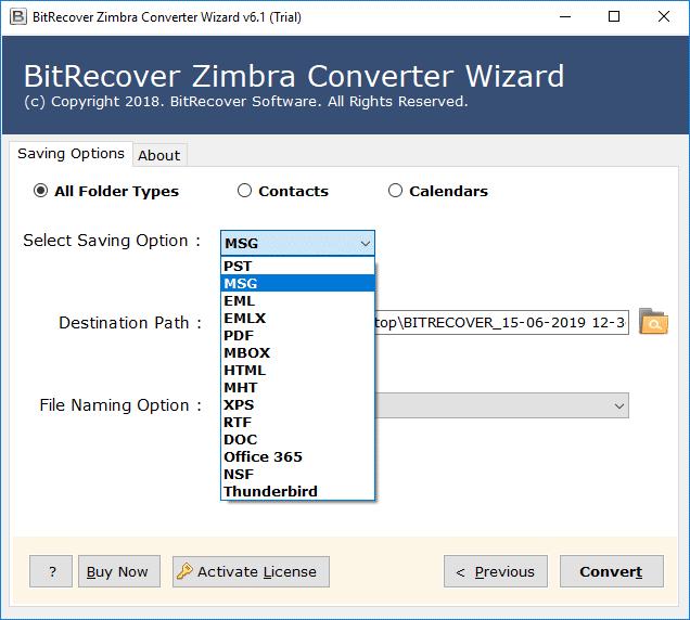 zimbra to msg converter