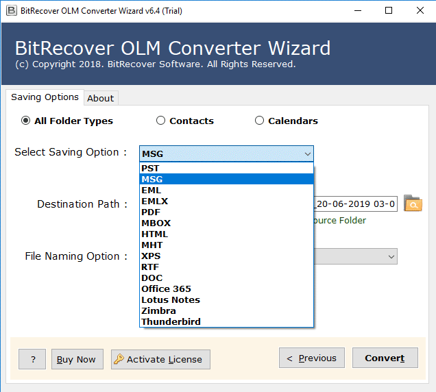 olm to msg converter