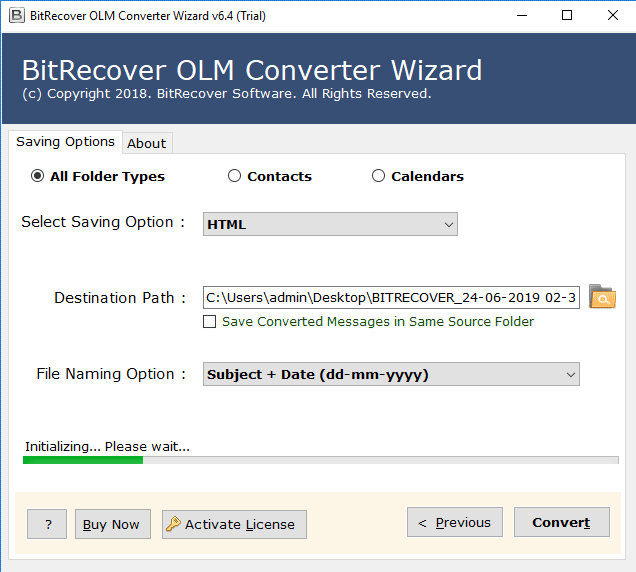 olm to html migration