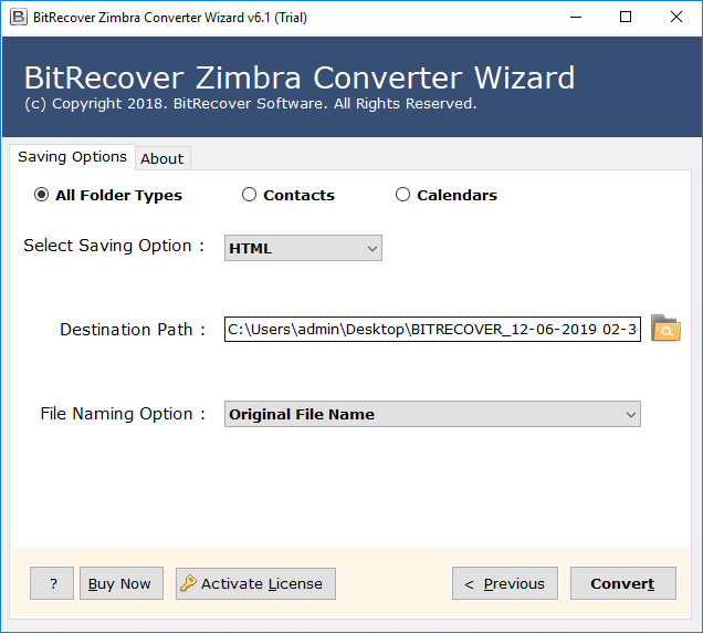 convert zimbra to html