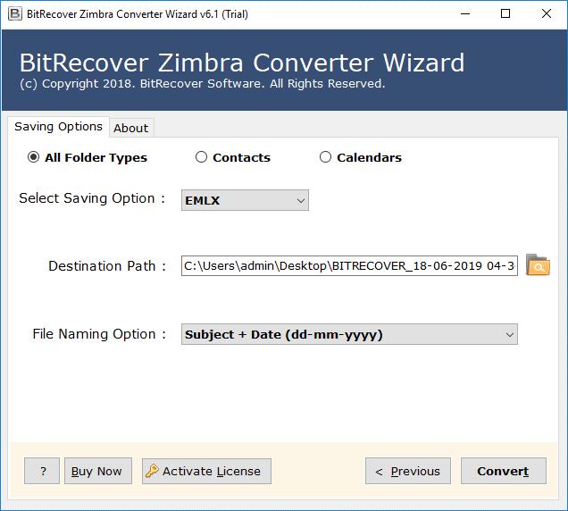 convert zimbra to emlx