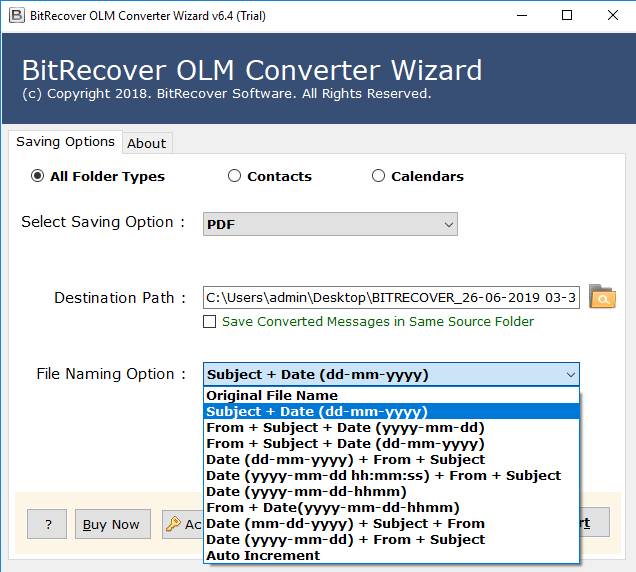 convert olm file to pdf