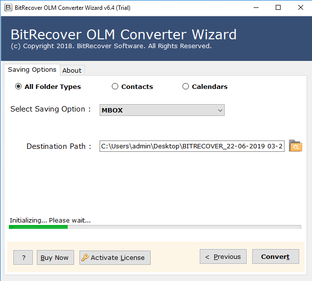 convert outlook olm to mbox