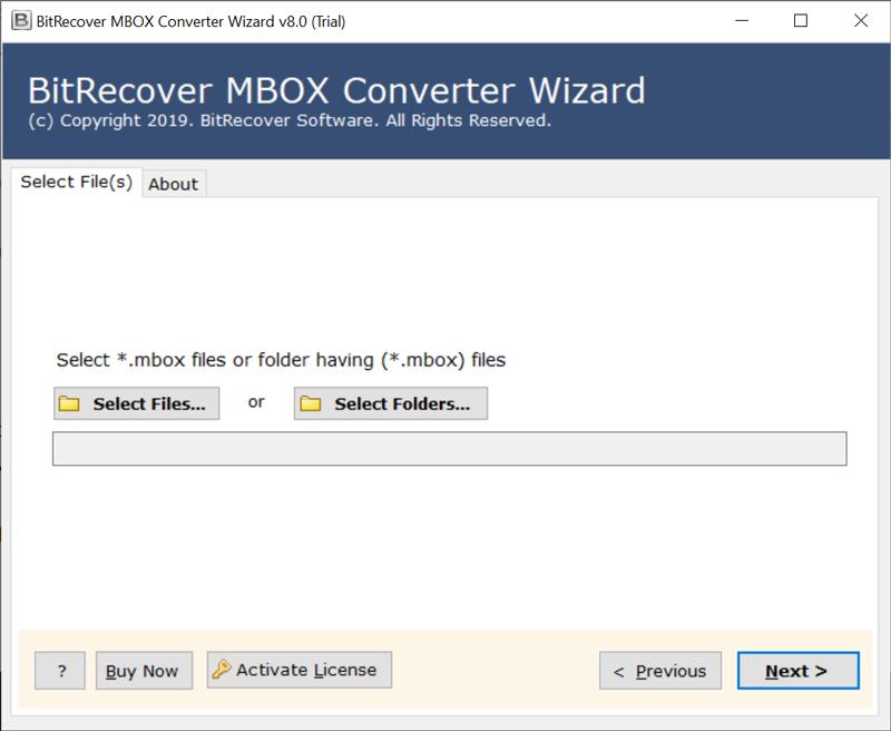 BitRecover MBOX to RTF Converter