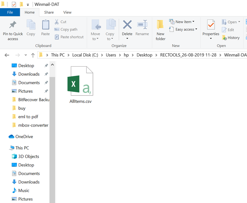 dat file to excel converter free software