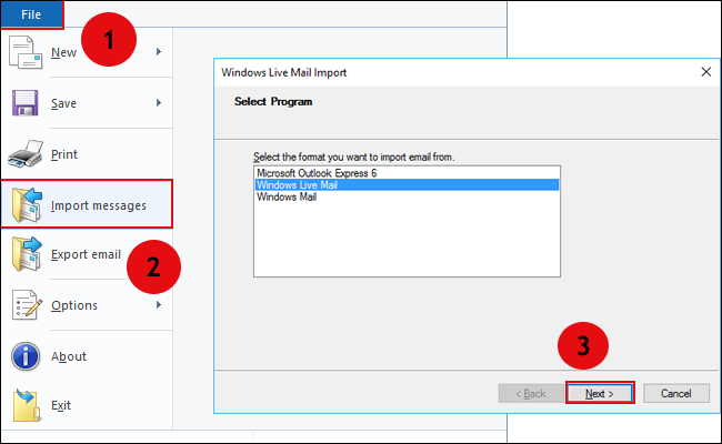How to Open Winmail.dat in Windows Live Mail